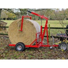 Large bale transporter, carrying capacity 1000kg (1ton)