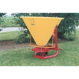 Plastic Hopper Fertilizer Spreader - 250L - 16hp