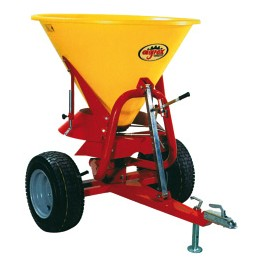 Fertilizer Spreader - 500L -24hp - Trailed Disc Attachment with Plastic Hopper