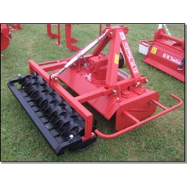 Rotary Power Harrow with Crumbler Bar - 1.70m - 35hp