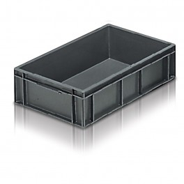 Euro Stacking Plastic Container (400 x 300 x 118) - Pack size 1