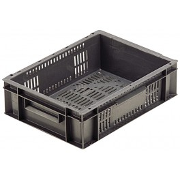 Euro Stacking Perforated Containers (400 x 300 x 118) - Pack size 1