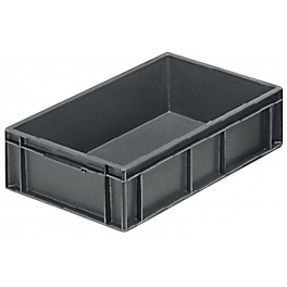 Euro Stacking Plastic Containers (600 x 400 x 150mm) - Pack size 1