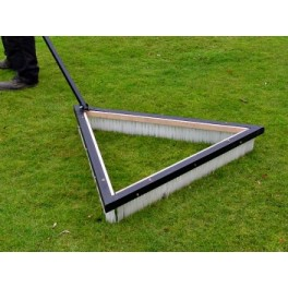 Trailed Triangular Sports Brush - 36""