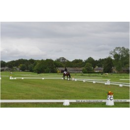 Dressage Arena - 20m x 40m with 8 Letter Towers
