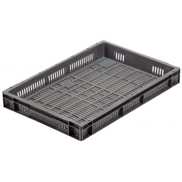 Euro Stacking Perforated Containers (600 x 400 x 73mm) - Pack size 1