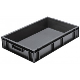 Euro Stacking Plastic Containers (600 x 400 x 120mm) - Pack size 1