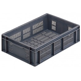 Euro Stacking Perforated Containers (600 x 400 x 150mm) - Pack size 1
