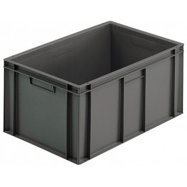 Euro Stacking Plastic Containers (600 x 400 x 235mm) - Pack size 1