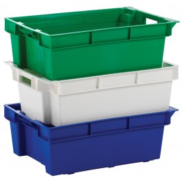 Euro Stack and Nest Container - Solid (32 litre) - Pack size 1
