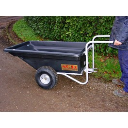 Plastic bodied trailer / barrow size as PTP trailer