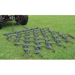 4ft wide Chain Harrow trailed