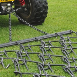 4ft Heavy Trailed - Double Depth Chain Harrow