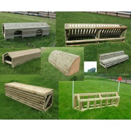 SALE - Set of 5 Cross Country Jumps - 8ft Wide