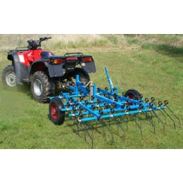 2m Wide Grass Wheeled Harrow with Pin Hitch - Comes as standard