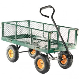 320kg Hand Cart with Drop Down Sides