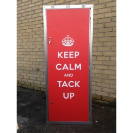 """Keep Calm"" Double Tack Locker"