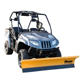 PathPro 1.5m SnowPlough for UTV with Hand Winch Lift