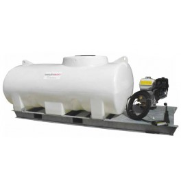 4000L Pressure Washer Skid Unit - 13 L/m - 2900Psi (200Bar) Honda Petrol & Recoil