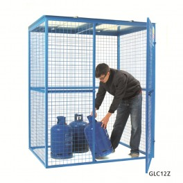 Lock Up Security Cage - 1580 x 1175 x 1910mm (comes as standard)