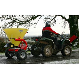 300kg ATV Salt Spreader with Plastic Hopper and 18-9.5X8 Tyres