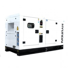 Canopied Single Phase Diesel Generator 52.8kW/60kVA 230v 1500rpm