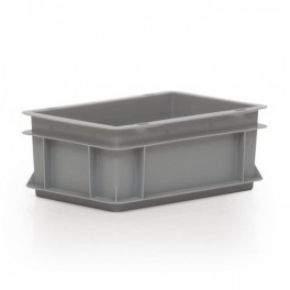 Stacking Container 120mm high - Solid - No Lid