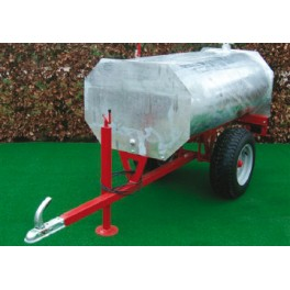 Galvanised Water Bowser - 2000L