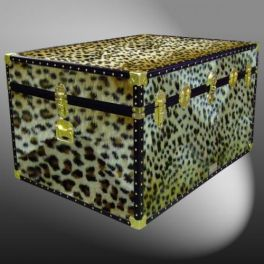 Customisable Storage Trunk - L102 x W74 x H58 cm - 438 Litre - Wooden, ABS Trim