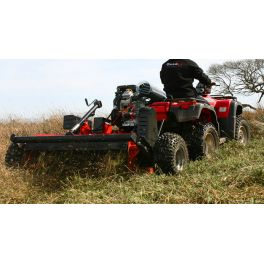 1.5m/5ft ATV POWER SHREDDER MOWER - 18HP v-twin, electric start