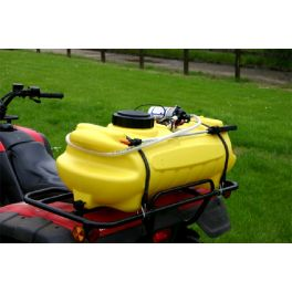 60L Pro Spray' ATV SPRAYER with Drain Bung Only and Ring Terminal for ATV