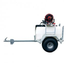 300 Litre Pro Trailer Sprayer - 12L/min Spray Marshal Pump - 60m Hose Reel