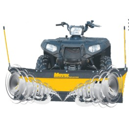 PathPro 1.5m Snow Plough for UTV