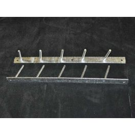 5 Pole Wall Tidy - Galvanised Hanger - 5 poles - as standard