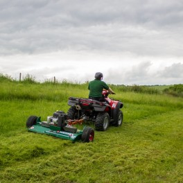 AR-180 Rotary Mower - 13.5hp B&S Engine with Electric Start