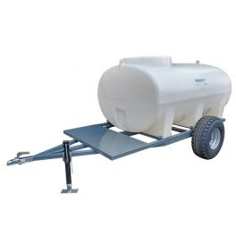 2000L Site Tow Trailer Mounted Water Bowser - Single Axle