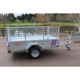 7ft x 4ft Trailer 750kg Caged Heavy Duty Galvanised Box Utility ROAD LEGAL Trailer