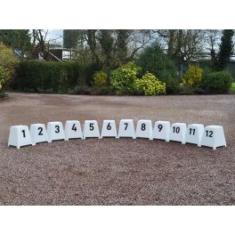Small Showjump Markers Set of 12