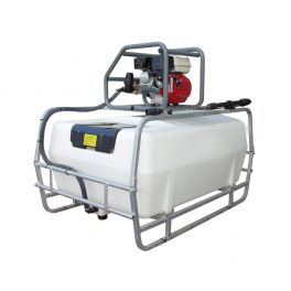 300L Pressure Washer Skid Unit - 13 L/m - 2900Psi (200Bar) Honda Petrol & Recoil