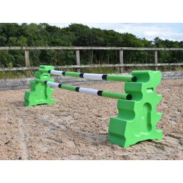 Eco Beginner Jump Set - 1 Fence - Eco Jumps