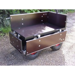 Four Wheel Turn TableTrolley - SCH FBT1