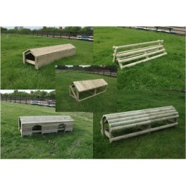 "Set of 5 ""10ft wide""Cross Country Fences"