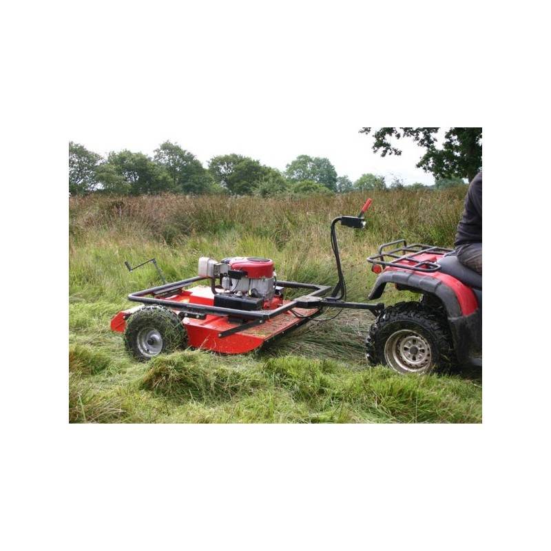V Twin Quad Engine: WILDCUT ATV MOWER