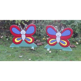 Pair of Spooky Butterfly fillers
