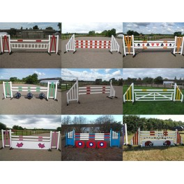 Set of 9 Premium Jumps - 8 ft x 4 ft