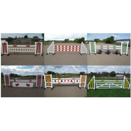 BSJA Set of 6 Premium Jumps  - 8 ft x 4 ft