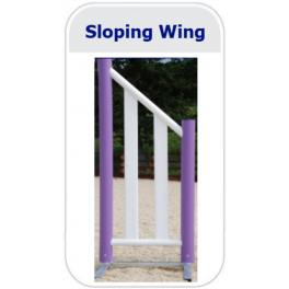 Sloping Design Wing (Pair)