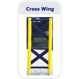 Cross Design Wing (Pair)