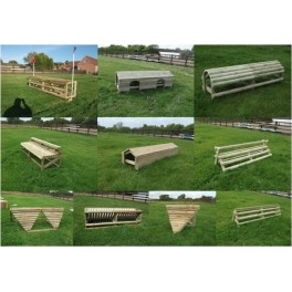 Set of 10 Cross Country Fences
