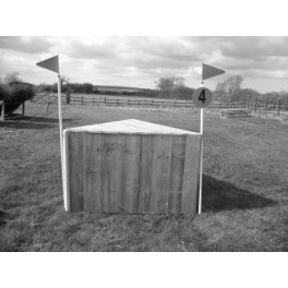 Wedge - Cross Country Jump - 4ft x 18 inches